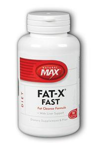 NaturalMax: Fat-X Fast 90ct