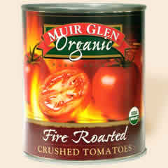 Muir Glen: Crushed tomato,og,fire-rs 28 OZ