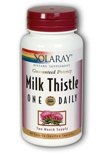 Solaray: Milk Thistle One Daily 350mg 60ct