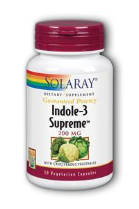 Solaray: Indole-3-Supreme 30ct 200mg