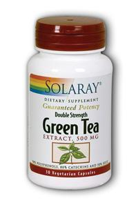 Solaray: Green tea double strength 30ct