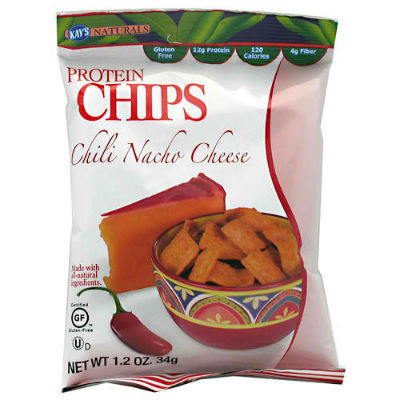 KAY'S NATURALS: PROTEIN CHIPS CHILI CHEESE 6/BX