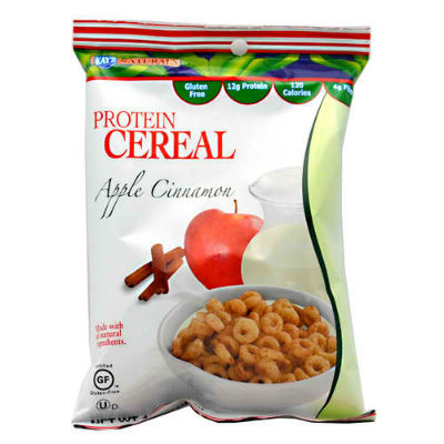KAY'S NATURALS: PROTEIN CEREAL APPLE CINNAMON 6/BX