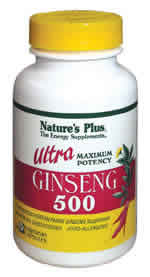 Natures Plus: ULTRA GINSENG 500 60 60 ct