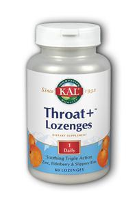 Kal: Throat Releev Lozenges 60 lozenges Orange
