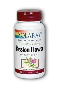 Solaray: Passion flower extract 60ct