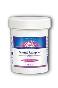 Heritage Store: Camphor Crystals Natural 1 oz