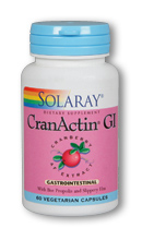 Solaray: CranActin GI 60 ct