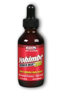 Natural Balance: Yohimbe Power Max 2000 (Pure Yohimbe Bark Extract) 2oz