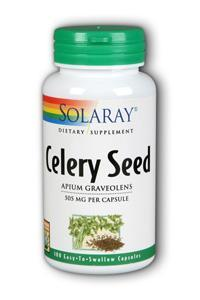 Solaray: Celery Seed 100ct 505mg