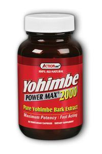 Natural Balance: Yohimbe Power Max 2000 (Pure Yohimbe Bark Extract) 50ct