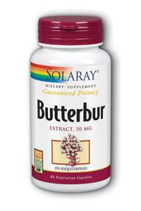 Solaray: Butterbur Extract 60ct