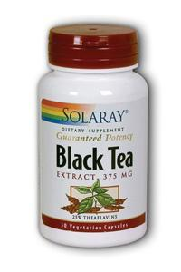 Solaray: Black Tea Extract 30ct caps 94mg theaflavins