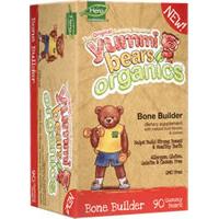 YUMMI BEARS (HERO NUTRITIONAL PRODUCTS): Organic Yummi Bears Bone Builder 90 ct