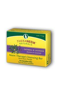 Organix South: TheraNeem Oatmeal Lavender and Neem Oil Soap 4 oz Bar