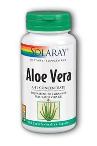 Solaray: Aloe Vera Gel 100ct 2000mg