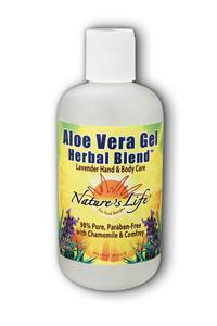 Natures Life: Lavender Aloe Vera 8oz