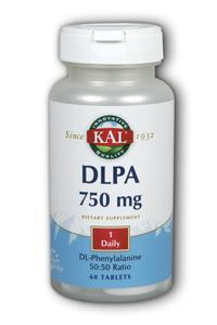 Kal: DLPA 750 mg. 60ct 750mg