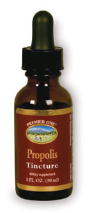 Premier One: Propolis Tincture 25 Percent 1 Liq Unflv 125mg