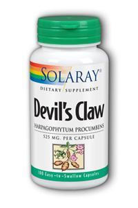 Solaray: Devil's claw 100ct 525mg