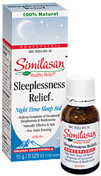 SIMILASAN: Sleeplessness Relief Globules 15 g