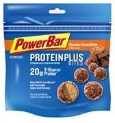 Powerbar: Protein plus bites chocolate  peanut butter 8  pack 8 PACK