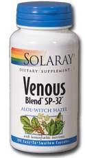 Solaray: Venous Blend SP-32 100ct