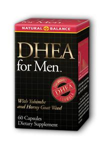 Natural Balance: DHEA for Men 60ct