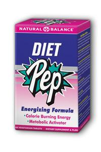 Natural Balance: Diet Pep Ephedra Free 60ct