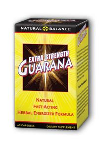 Natural Balance: Extra Strength Guarana 60ct