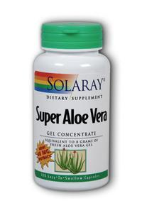 Solaray: Super Aloe Vera 100ct 40mg