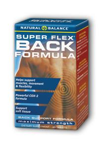 Natural Balance: Super Flex Back 60ct