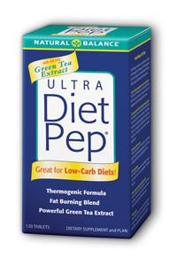 Natural Balance: Ultra Diet Pep With Green Tea Extract 120ct