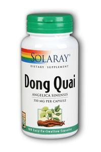 Solaray: Dong Quai 100ct 550mg