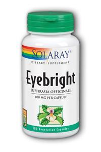 Solaray: Eyebright 100ct 400mg