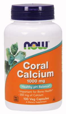 NOW: CORAL CALCIUM 1000MG 100 VCAPS 100 VCAPS