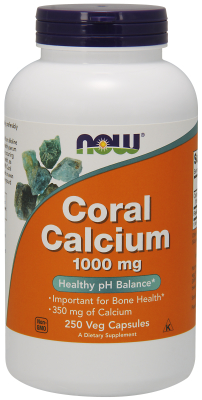 NOW: CORAL CALCIUM 1000MG 250 VCAPS