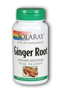 Solaray: Ginger Root 100ct 550mg