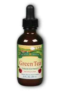 Sunny green: Green tea extract apple flavor 2 oz liquid