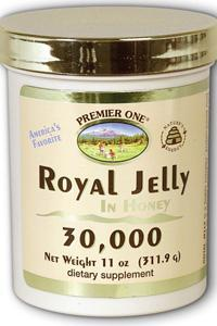 Premier one: Royal jelly in honey 30000 11oz 30000mg