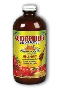 Natures Life: Apple-Honey  Acidophilus 16oz