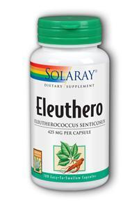 Solaray: Eleuthero 100ct 425mg