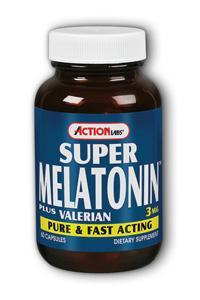 Action Labs: Super Melatonin Plus 60ct