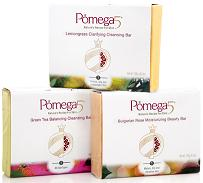POMEGA INC: SKIN PERFECTING CLEANSING BAR TRIO 3PC