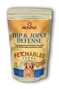 ActiPet: Hip and Joint Defense Fetchables 8 Chew Bacon bones