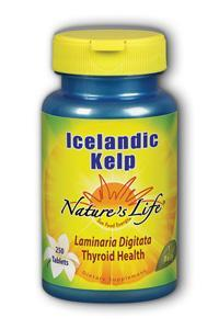 Natures Life: Icelandic Kelp 250ct