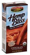 HEMP BLISS,OG,CHOCOLATE Case of 12 / 32 OZ from Manitoba Harvest
