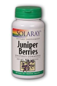 Solaray: Juniper Berries 100ct 450mg