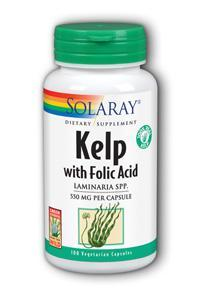 Solaray: Kelp 100ct 640mg