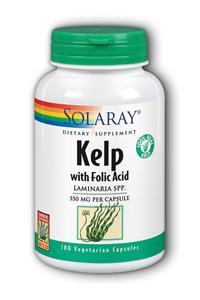 Solaray: Kelp 180ct 640mg